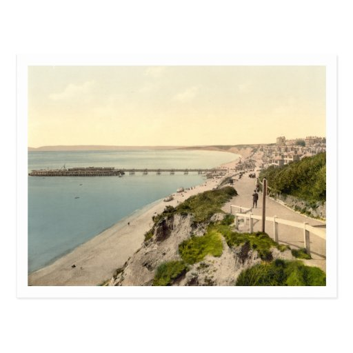 Bournemouth II, Dorset, England Postkarte