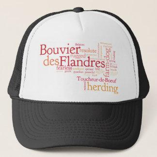 Bouvier DES Flandres Truckerkappe
