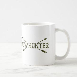 Bowhunter kreuzte Pfeile Kaffeetasse
