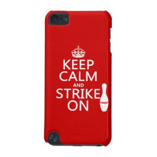 Bowling - behalten Sie Ruhe und schlagen Sie an iPod Touch 5G Hülle