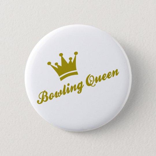 bowling queen runder button 5,1 cm