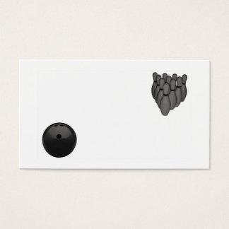 Bowling Visitenkarte