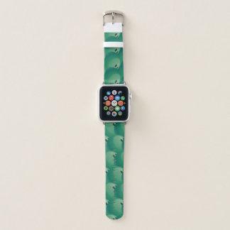 Bowlings-Ball-abstraktes Apple Watch Armband