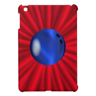 Bowlings-Ball über Rot iPad Mini Hülle