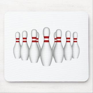 Bowlings-Buttone: Modell 3D: Mousepad