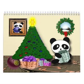 Bowlings-Panda Kalender