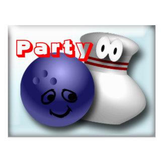 Bowlings-Party Einladungen kundengerecht