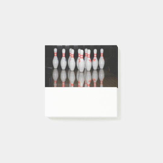 Bowlings-Post-Itanmerkungen Post-it Haftnotiz