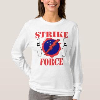 Bowlings-Streik-Kraft T-Shirt