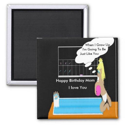 Bowlingsbaby alles- Gute zum Geburtstagmamma-Magne Magnets