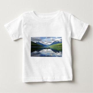 Bowman See - Glacier Nationalpark Montana Baby T-shirt