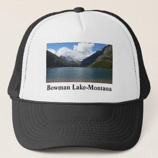 Bowman See - Glacier Nationalpark Montana Truckerkappe
