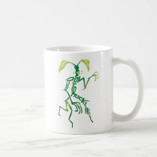 Bowtruckle Typografie-Grafik Kaffeetasse
