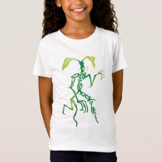 Bowtruckle Typografie-Grafik T-Shirt