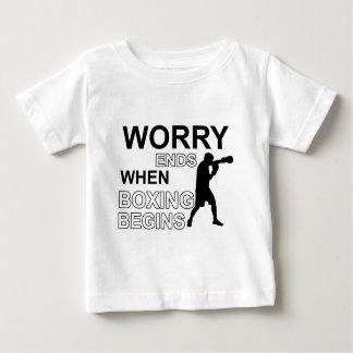 boxende Entwürfe Baby T-shirt