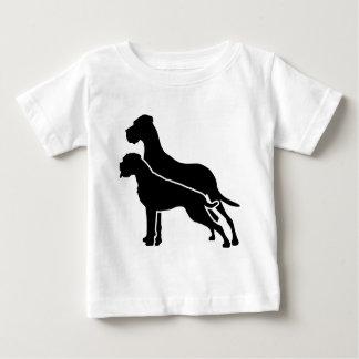 Boxer and Great Dane Baby T-shirt