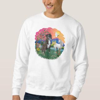 Boxer (Brindle-natürlich) Sweatshirt