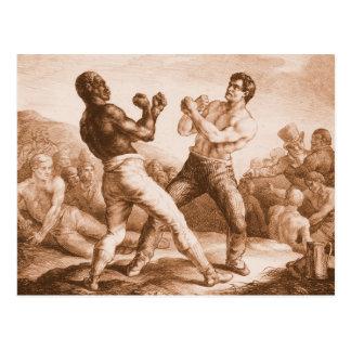 Boxer durch Gericault Postkarte