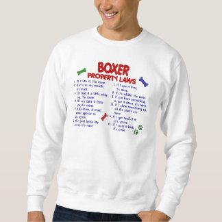 Boxer-Eigentums-Gesetze 2 Sweatshirt