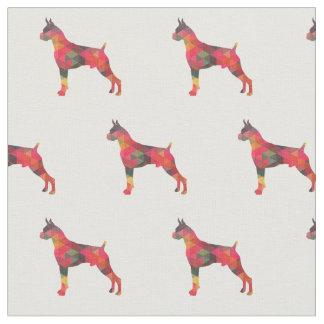 Boxer-geometrische Muster-Silhouette multi Stoff
