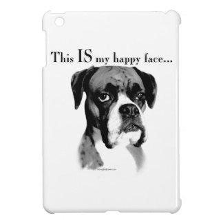Boxer-glückliches Gesicht iPad Mini Hülle