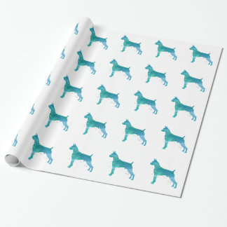 Boxer-HundeAquarell Geschenkpapier