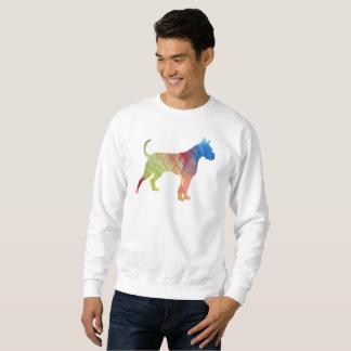 Boxer-Hundekunst Sweatshirt