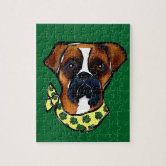 Boxer-Hundest. Patty Puzzle