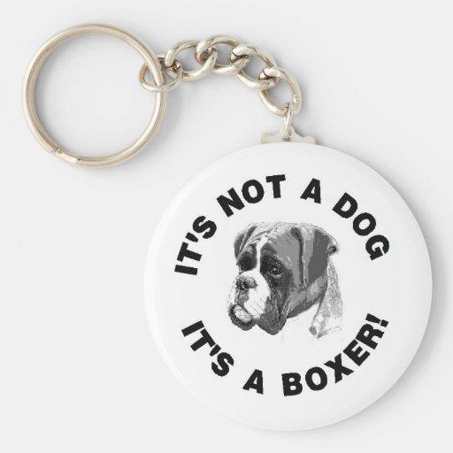 Boxer-Idee 1 Schlüsselanhänger