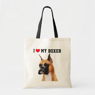 Boxer-illustrierte Taschen-Tasche Tragetasche