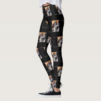 Boxer-Kunsthundekunstgamaschen Leggings