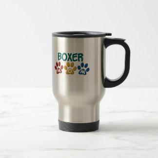 BOXER-MAMMA Tatzen-Druck 1 Kaffeetasse