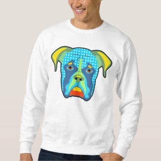 Boxer-Muster-Pop-Kunst Sweatshirt