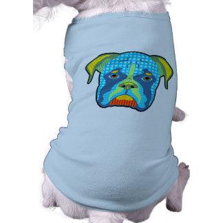 Boxer-Muster-Pop-Kunst T-Shirt