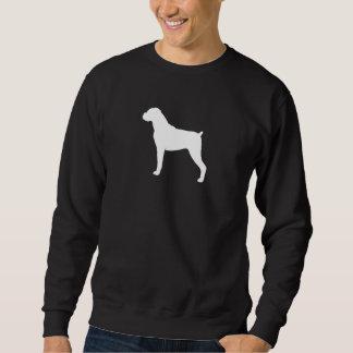 Boxer-Silhouette Sweatshirt