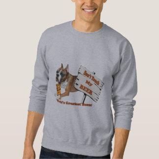 Boxer tun nicht Touch mein Bierkleid Sweatshirt