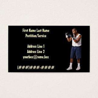 Boxer Visitenkarte