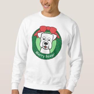 Boxer-Weihnachten Sweatshirt