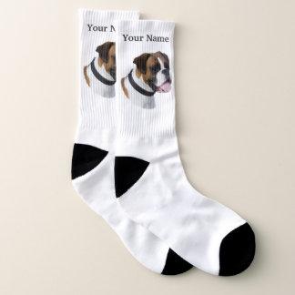 Boxerhund Socken