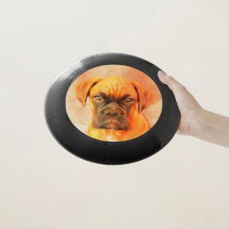 Boxerhundekunst Frisbee