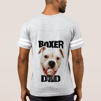 Boxerhundevati-Fußball-Shirt T-Shirt