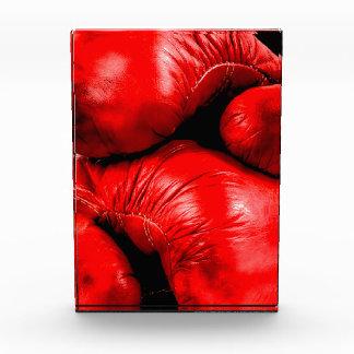 Boxhandschuh-Boxer-Schmutz-Art Acryl Auszeichnung