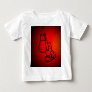 Boxhandschuh-Kampf-Fangeschenk oder anwesendes Baby T-shirt