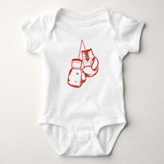 Boxhandschuhe Baby Strampler