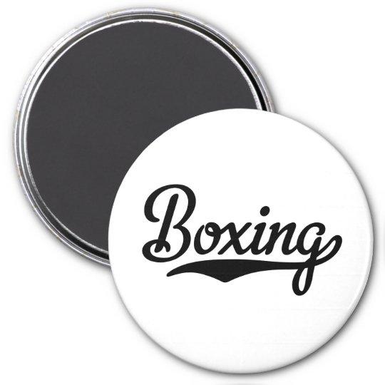 boxing runder magnet 7,6 cm