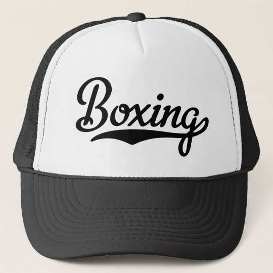 BOXING TRUCKERKAPPE