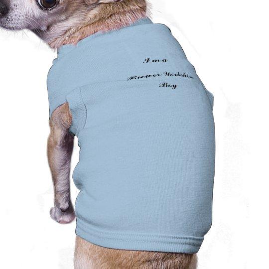 Boy,  Biewer Yorkshire, Terrier T-Shirt