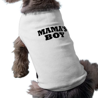 Boy Dog lustiger Mutter T-Shirt