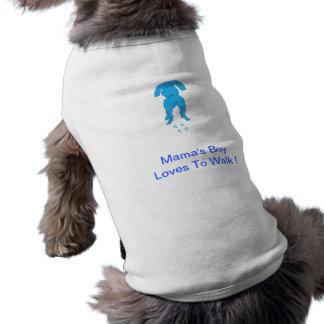 Boy Doggie Shirt Ears Mutter unten