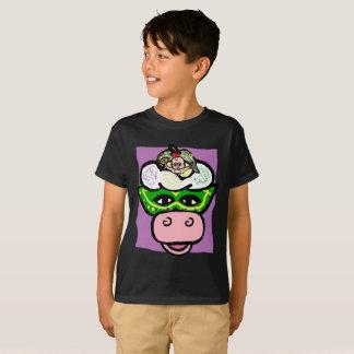 BOY/GIRL KARNEVAL - Eiscreme-Kuh FEIERTAG Reihe T-Shirt